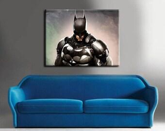 Batman Wall Art - Batman Canvas Print - Batman Wall Decor - Batman Print - Movie Canvas - Wall Decor - Free Shipping