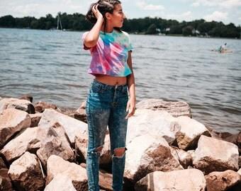 Tie Dye Crop Tops | Mystery Pick | Woman's Shirt | Girl's Shirt