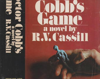Doctor Cobb's Game by R V Cassill (Hardcover,Fiction) 1970
