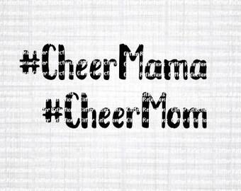 Cheer Mom SVG; Cheer Mom; Iron On; Shirt Decal; Cut File; Cheer Decal; Cricut Cut File; Silhouette Cut File; Cameo Cut File; Cheerleader SVG