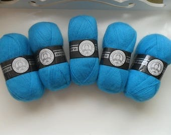 Oren Bayan Madame Tricote Paris Angora Yarn, Hand Knitting Yarn, Turkish Yarn