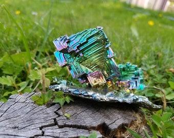 323 Gram Rainbow Bismuth Crystal