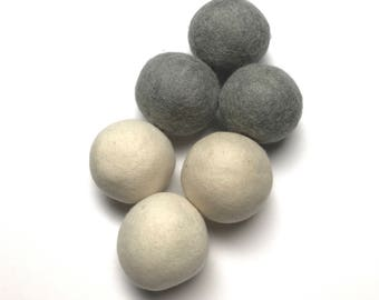 WOOL DRYER BALLS, Essential Oils, Aromatherapy, Laundry, Dryer Balls, Eco Friendly, Dryer, Oil Diffuser, Felt Wool, Non Toxic