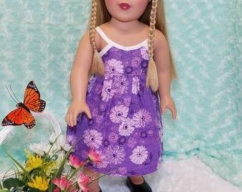 Purple Summer Dress - American Girl & Friends