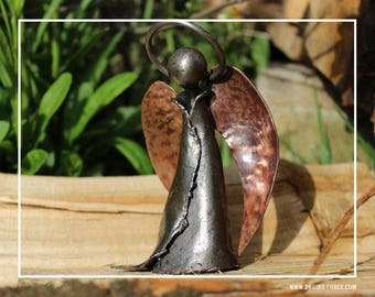 Hand forged angel