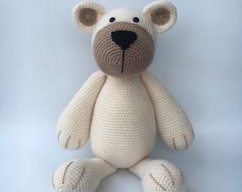Crochet bear BUD