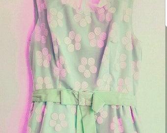 60s Dress w/ Flowers