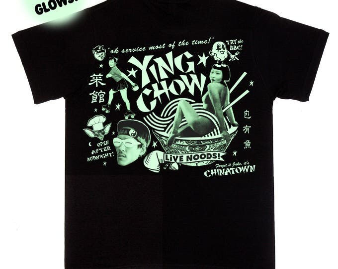 Ying Chow Glow In The Dark T Shirt
