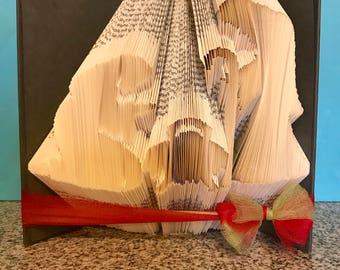 Nativity Folded Book  2 - Christmas - Jesus - Mary - Joseph - Pastor - Church - Holiday -