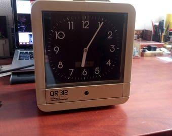 SEIKO Q.R 312 CONTROL CLOCK, Vintage Seikosha Q R 312 Electronic Control Clock, Seiko Q R 312 Control Clock