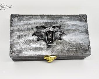 Cat school inspired jewellery box | The Witcher cosplay | Ciri | Geralt | Yennefer |