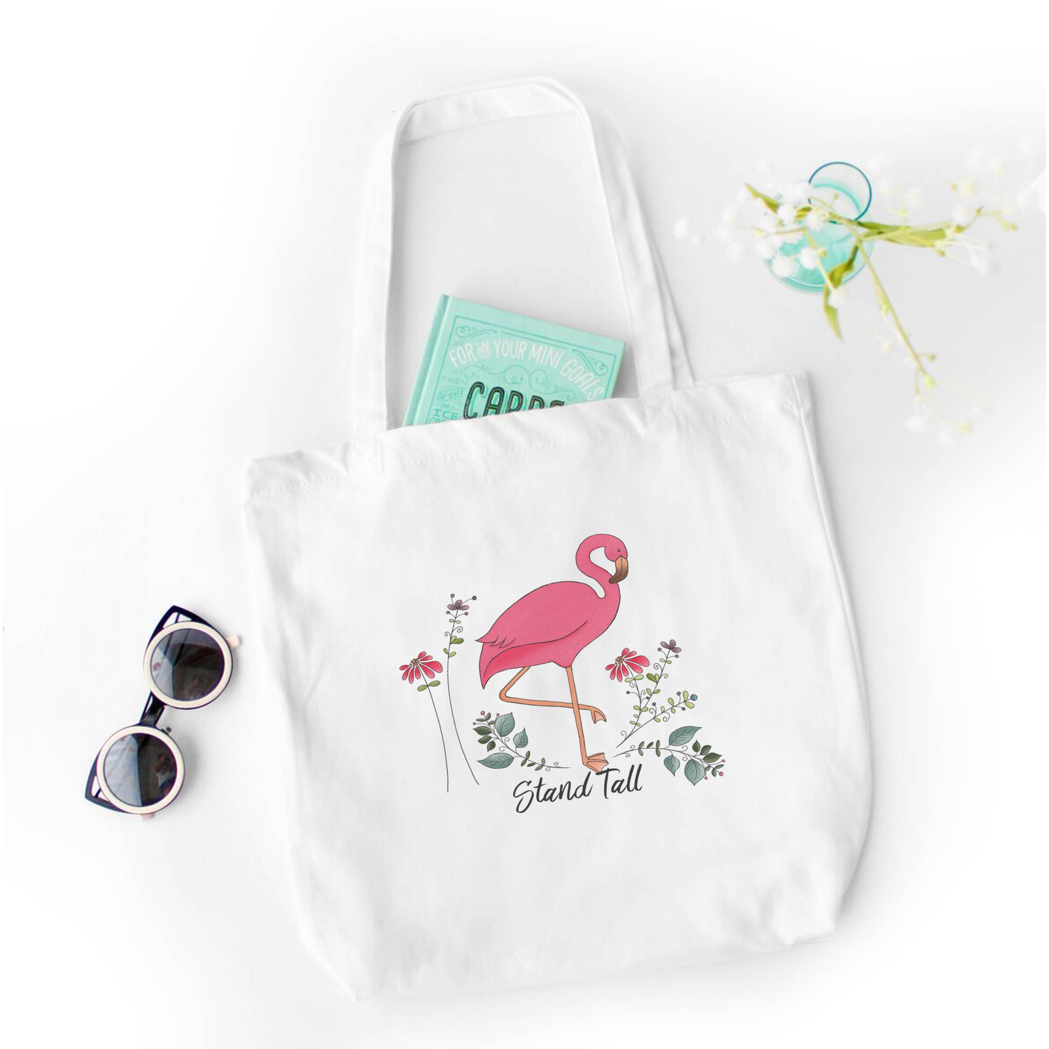 flamingo party favor cute flamingo gift idea personalized pink