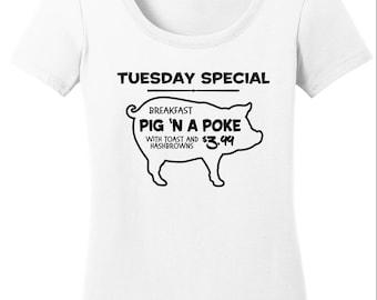 Supernatural Shirt / Supernatural / Pig 'n a Poke / SPN / SPN Fan / Gifts for Supernatural Fans / Supernatural T-Shirt / SPN Gift / T-Shirt