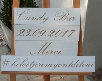 Fleches  personnalisables pour photobooth. Pancarte personnalisable photobooth. Photobooth mariage