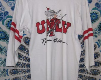 UNLV  Runnin' Rebels XL 3/4 Sleeve Shirt