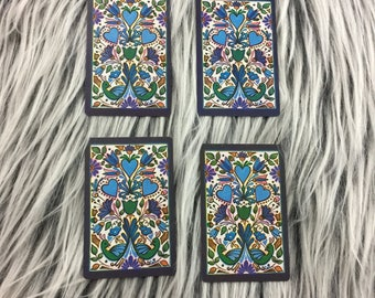 Vintage Playing Cards // Floral Playing Cards // Hoyle Playing Cards // Hoyle Cards // Playing Cards (B16)