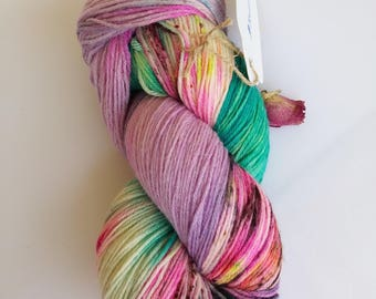Hand-dyed Merino silk mix 100 g