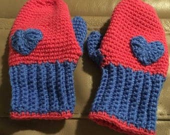 Cold Hands, Warm Heart Women's Mittens, One Size Fits Most