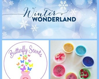 Highly Scented Wax Pot Melts Tarts WAX SAMPLER NOVEMBER 'Winter Wonderland'