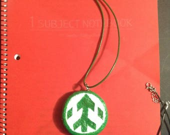 Voltron Green Paladin Pendant