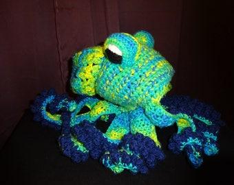 Octopus Hat, Crochet