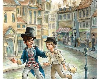 Oliver Twist Print
