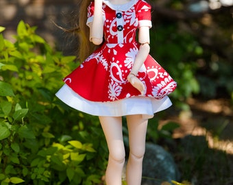 Volks DD3 : Red Hibiscus - In Stock