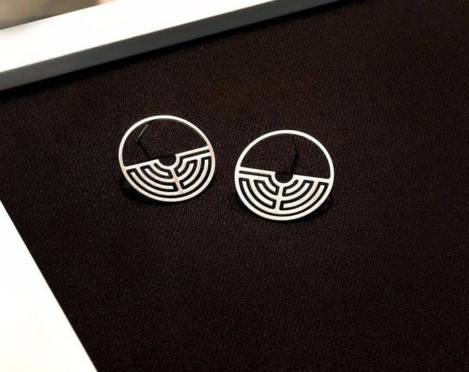Labyrinth 180ᵒ Earrings
