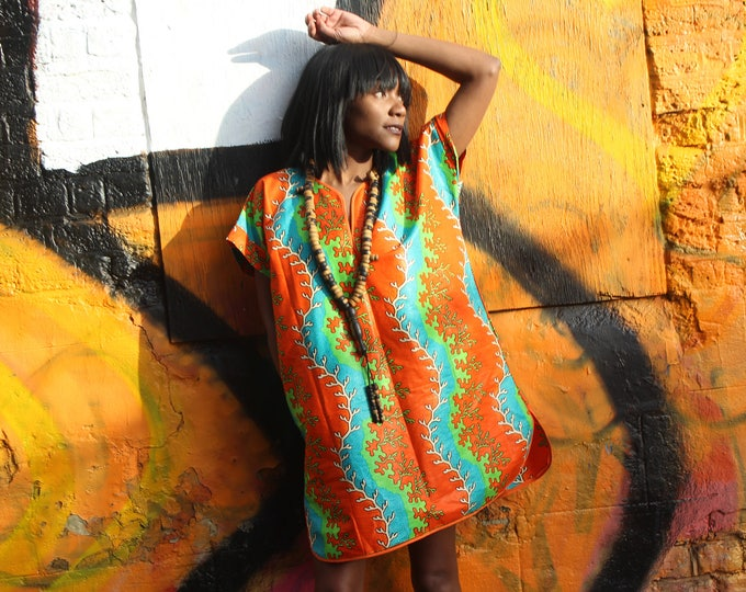 Featured listing image: African Dress - African Print Clothing - African Shift Dress - Festival Dress- Ankara Dress - African Dress -Summer Outfit - African Fashion