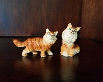 Persian Cat Figurines
