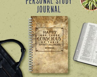 Personal Study Notebook  | JW Gifts | Pioneer Journal | Jehovah's Witnesses | JW | Pioneer Workbook | Jw Notebook