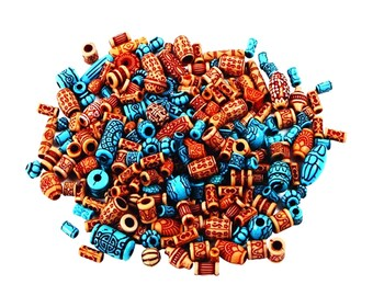 Exotic Plastic Beads 130 approx