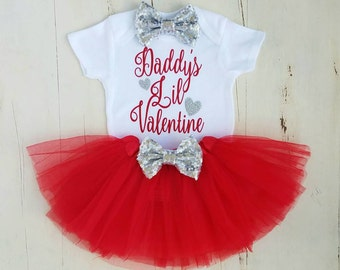Valentine Onesie, First Valentines Day, Baby Girl Clothes, Baby Girl Valentine  Outfit,