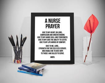 Nursing Quotes New Nurse Quote Nurse Print Nurse Gift Rn Quote Rn Print