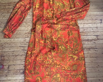 Psychedelic 60's Dress