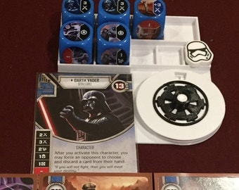 Star Wars Destiny Character Holder with Life Counter