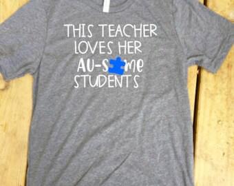 Special Education Teacher Shirt, Special Ed Teacher Shirt, SPED Teacher Shirt, Autism Awareness, Autism Teacher, BCBA, SLP Shirt