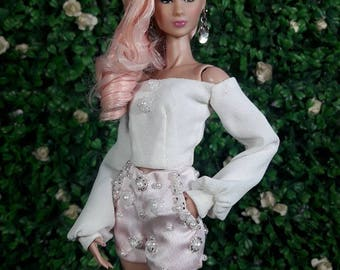 "LOVELY DOVELY - Look 3 - Fashion for Fr2, Barbie, Silkstone and same size 12"" doll"