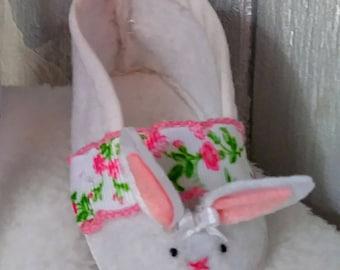 Newborn Bunny Slippers girl's