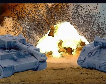 Wargaming Game Gear : Tank Token Cups