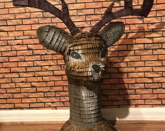 Deer Head pinata. Party Decorations.