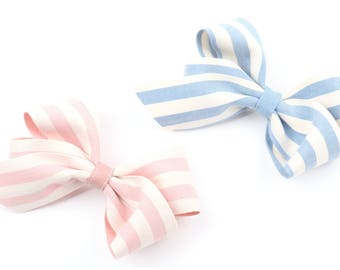 Korean style hair bow hair ribbon Women's hair bow hair accessories Hair elastic Hair pins Fabric ribbon bow