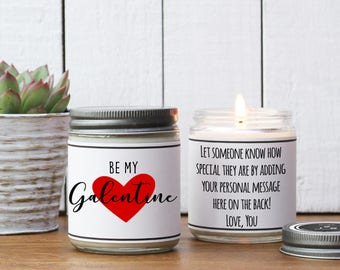 Be My Galentine Soy Candle | Scented Candle | Best Friend Valentine's Day Gift | Galentine's Day  Gift | Valentine's Day Gift for Friend