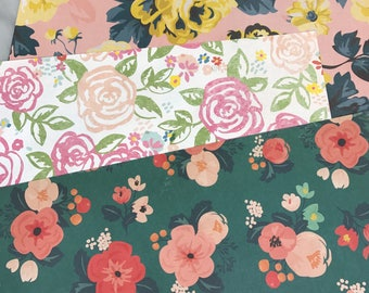 You Pick Vintage Flowers Happy Planner Dashboard Insert Planner Accessories Mambi Planner Supplies Back to School