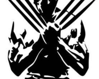Wolverine!!! -Vinyl Decal - Multiple colors and sizes