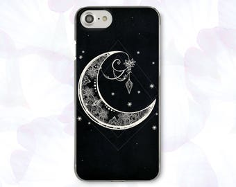 Moon iPhone 6 Case For Samsung Galaxy S8 Case iPhone X Case Phone 7 Plus iPhone 8 Case For Samsung S8  iPhone 7 Case iPhone SE Case CBB1564