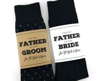 Wedding day gift etsy father of the bride sock wrapper father of the groom sock wrapper wedding day junglespirit Image collections