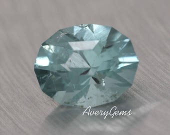 Tourmaline 0.6 Ct Natural Loose Gemstone Ror Tourmaline Ring Necklace Precious Gemstone Precision Cut By AveryGems