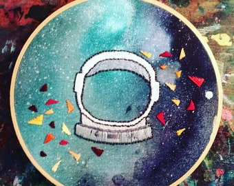 Spaced Out Embroidery