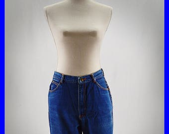 1980s High Waist Gitano Cutoff Jean Shorts Denim Shorts Cutoffs